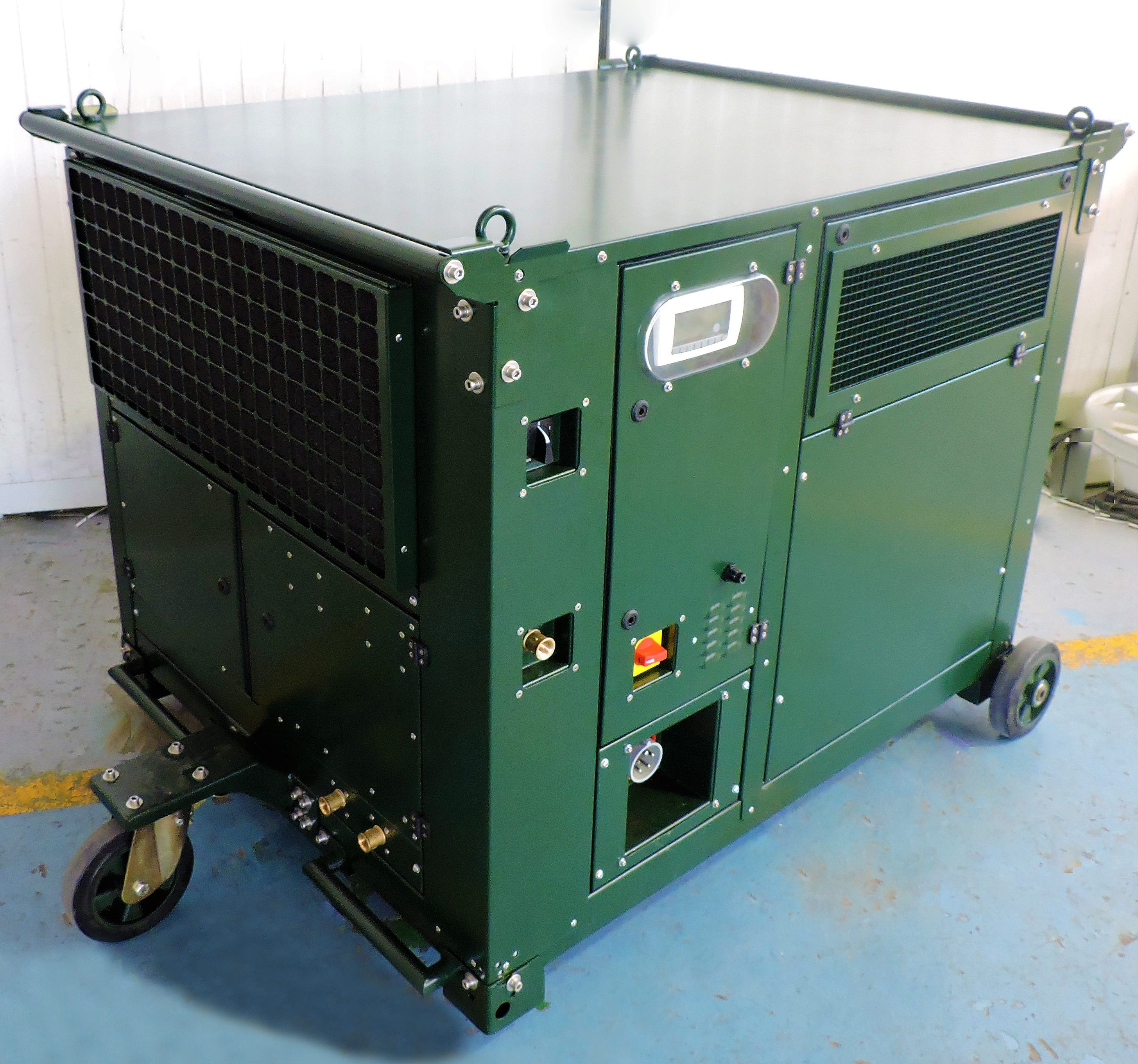 Atmospheric Water Generator by GENAQ A new water supply alternative